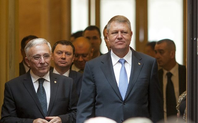 Klaus Iohannis si Mugur Isarescu InquamPhotos Ovidiu Micsik 640x400 1